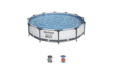 "12ft x 30"" Steel Pro Max Round Pool Set"