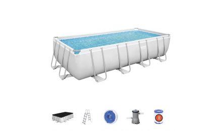 16ft Power Steel Rectangular Pool set