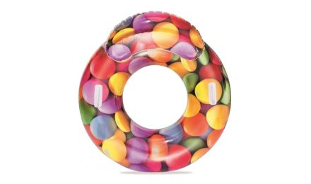 CANDY DELIGHT RUBBER RING WITH HEADREST
