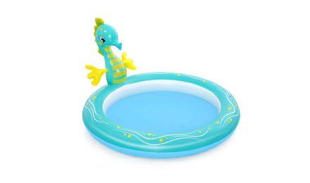 Seahorse Sprinkler Paddling Pool