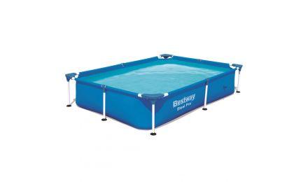 "7ft 3"" Steel Pro Rectangular Pool set"