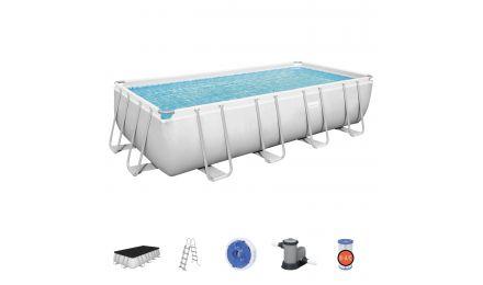 18ft Power Steel Rectangular Pool set
