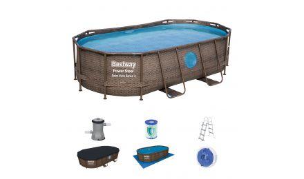 14ft Swim Vista Oval Pool Set