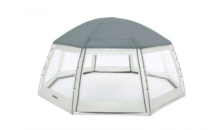 Round Pool Dome, Shelter for Swimming Pool and Hot tub Spas