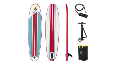 8ft Hydro-force Compact Inflatable Surfboard Set