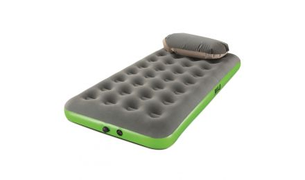 Twin Roll & Relax Airbed Green