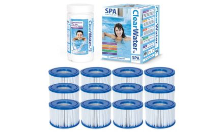 Lay-Z-Spa ClearWater Gold Starter Kit