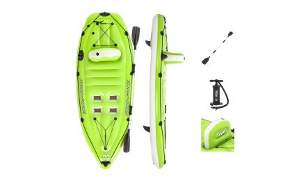 Hydro-Force Koracle Inflatable Kayak Set, 1 Person