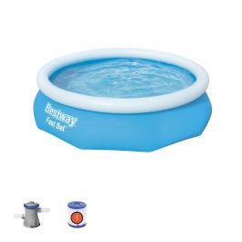 10ft Fast Set Round Pool Bundle