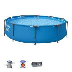 10ft Steel Pro Max Round Pool Set