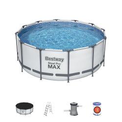 "12ft x 48"" Steel Pro Max Round Pool Set"