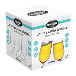 Lay-Z-Spa Unbreakable Beer/Cocktail Glasses