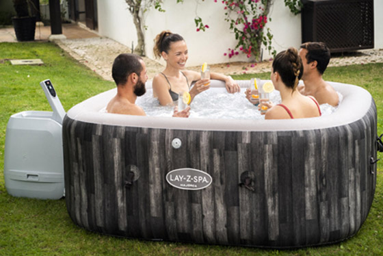 4 to 6 person hot tub