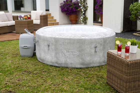 insulated inflatable hot tub